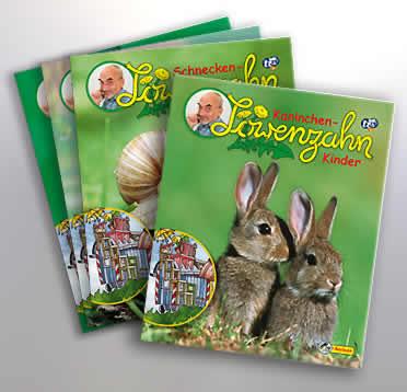 Löwenzahn Minibücher