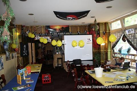 Das erste Löwenzahn Fanclub Fest Vorbereitung
