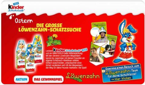 Kinder Werbe Artikel zum Löwenzahn Film