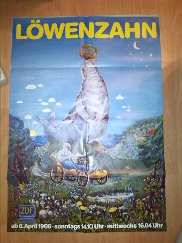 Löwenzahn Classic Poster 1986