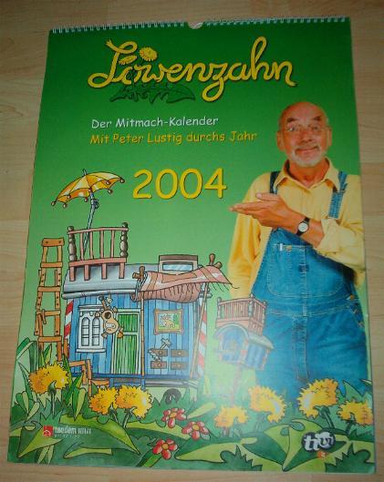Kalender Löwenzahn 2004