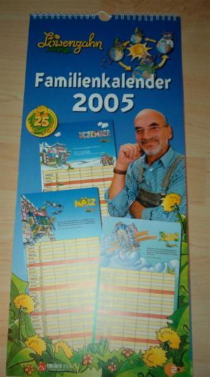 Kalender Löwenzahn 2005