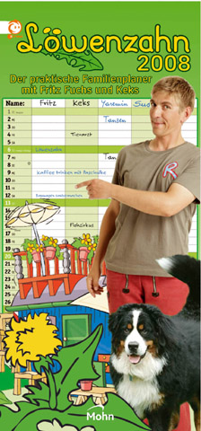 Kalender Löwenzahn 2008