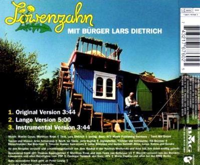 Löwenzahn mit Bürger Lars Dietrich Backcover