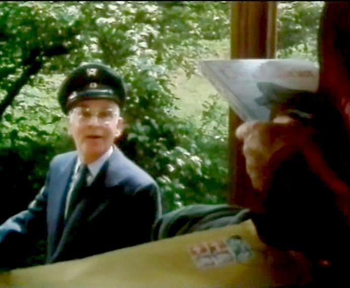 Der Postbote Heinz Kammer
