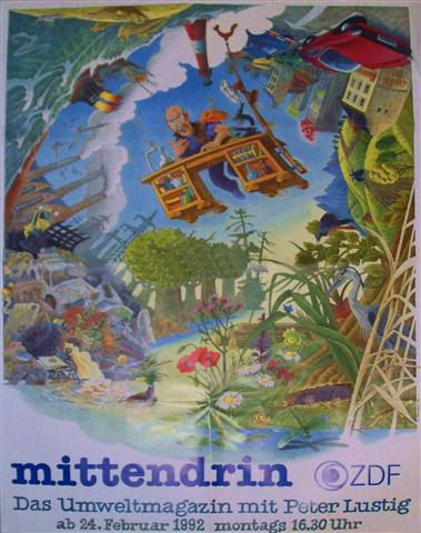 Mittendrin Maxie Poster